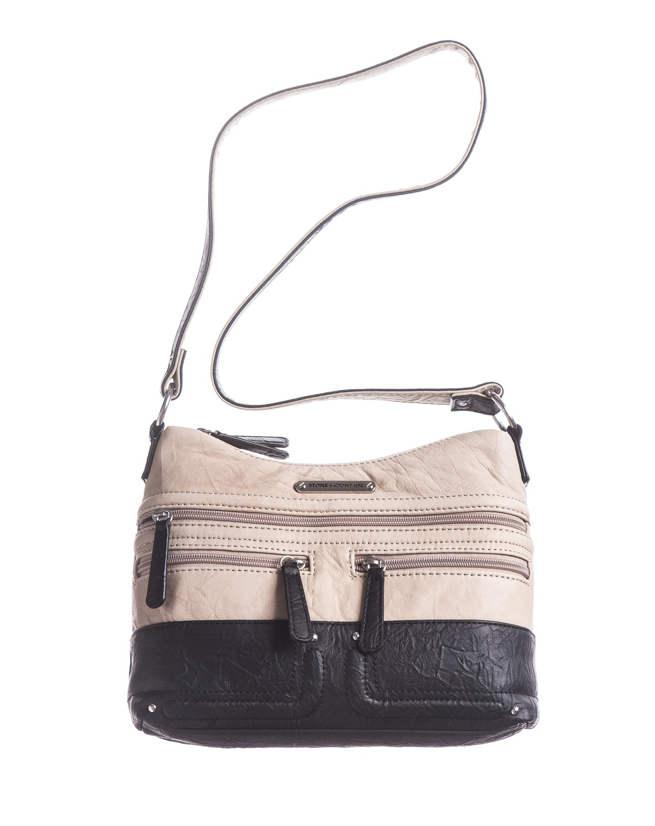 Isla Double Zip Hobo Bag