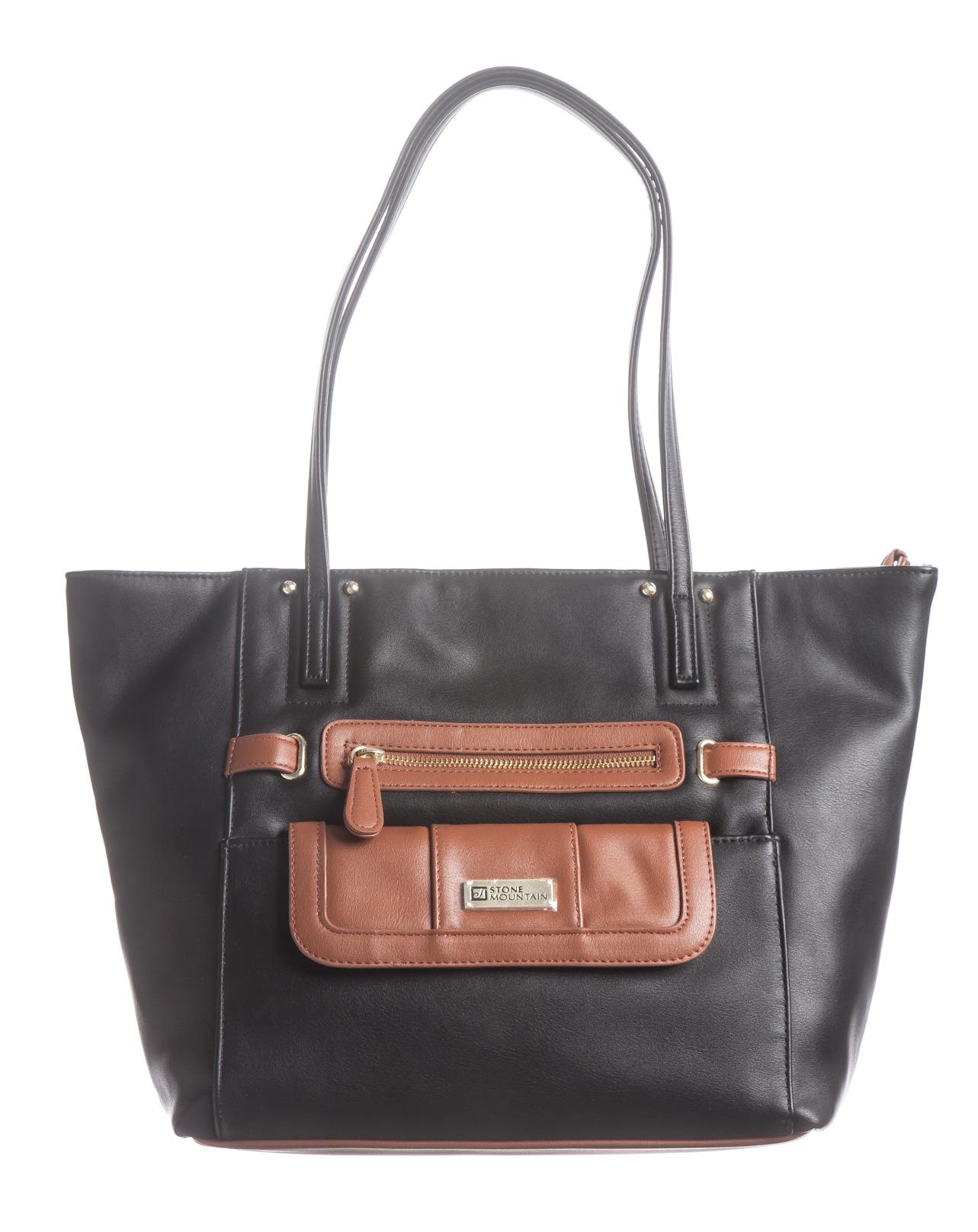 Nappa Leather E/W Tote Bag