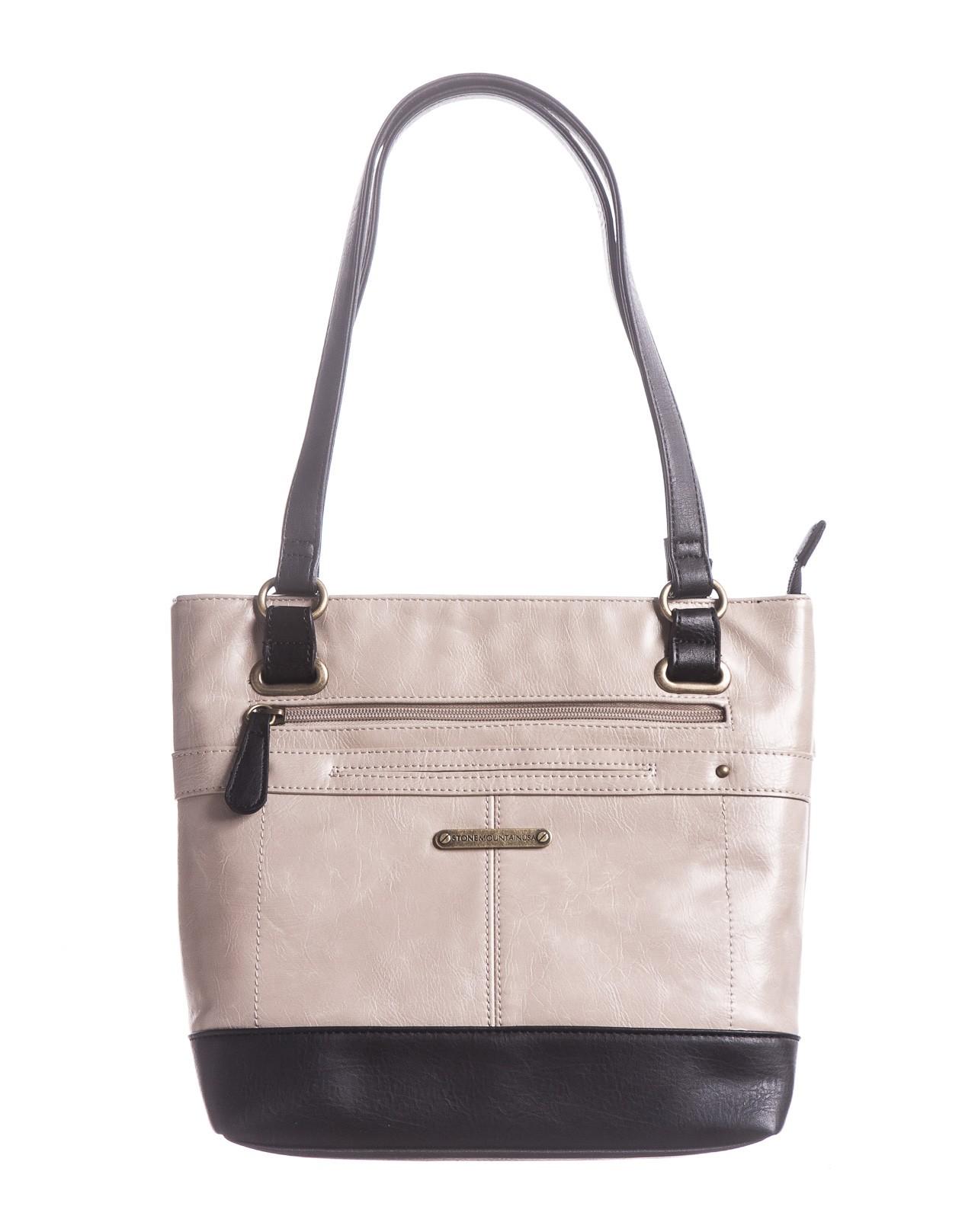 Vintage Leather N/S Tote Bag