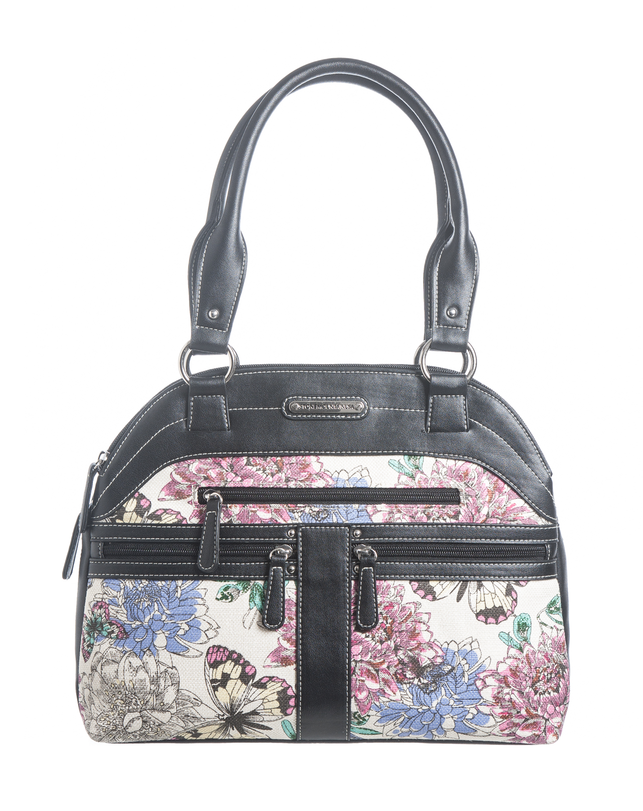 Garden Party Lg Dome Satchel