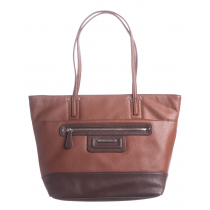 Pebble Leather E/W Tote