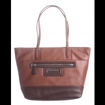 Pebble Leather E/W Tote