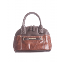 Vintage Leather Large Dome Satchel