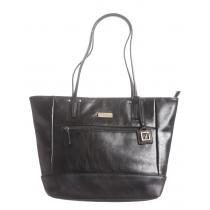 Vintage Leather East/West Tote