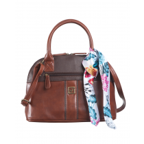 Veda Polished Satchel