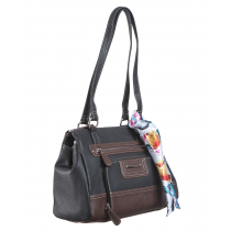 Peyton Triple Entry Satchel