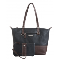 Plug In Pebble Peyton Tote w/wristlet